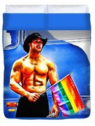 Gay Pride Duvet Cover