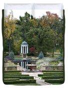 Gazebo Garden 3 Duvet Cover