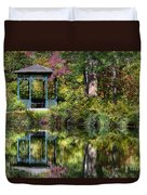 Gazebo Retreat Duvet Cover