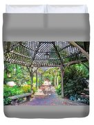 Gazebo Duvet Cover