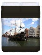 Gdynia Pirate Ship - Gdansk Duvet Cover