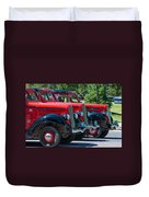 Gear Jammers Duvet Cover