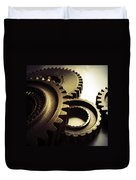 Gears Duvet Cover by Les Cunliffe