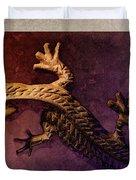 Gecko Dance 2 Duvet Cover