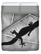 Gecko Shadow Duvet Cover