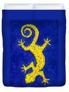 Gecko Wiggle Duvet Cover
