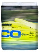 Geico Off Shore Racing Duvet Cover