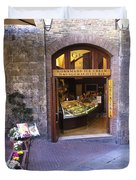 Gelateria Siena Duvet Cover