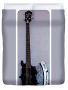 Gene Simmons Hatchet Bass Guitar Duvet Cover