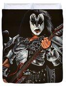 Gene Simmons Of Kiss Duvet Cover