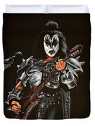 Gene Simmons Of Kiss Duvet Cover