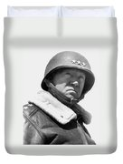 General George Patton Duvet Cover by War Is Hell Store