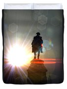 General In Sunrise Flares Duvet Cover