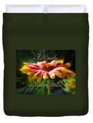 General Party Invitation - Blanket Flower Wildflower Duvet Cover by Mother Nature