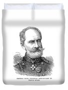 General Zach, 1876 Duvet Cover