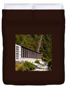Generator House Of Hydro-electric Power Plant Duvet Cover