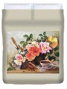 Generous Blooming Duvet Cover