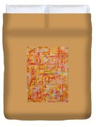 Genesis Chapter One Verse One Duvet Cover