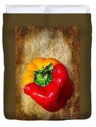 Genetically Modified Capsicum Duvet Cover