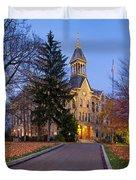 Geneva College Duvet Cover