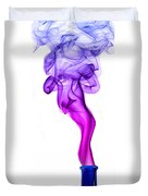 Genie Smoke Photography Duvet Cover