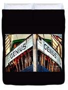 Genius Duvet Cover