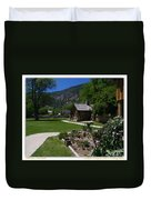 Genoa Log Cabin Duvet Cover