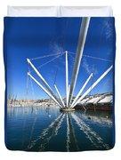 Genova - Porto Antico Duvet Cover