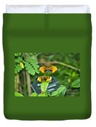 Gentle Butterfly Courtship 01 Duvet Cover