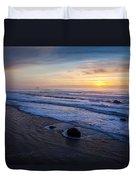 Gentle Evening Waves Duvet Cover