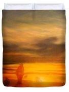 Gentle Sunset Vision Duvet Cover