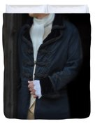 Gentleman In 18th Century Clothing Duvet Cover