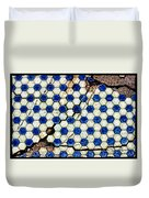 Geographic Tile Duvet Cover
