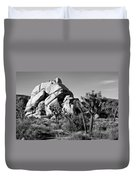 Geology Tour Road Duvet Cover