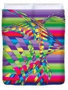 Geometric 3 Duvet Cover by Mark Ashkenazi