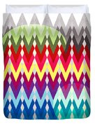 Geometric Colors  Duvet Cover