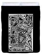 Geometric Doodle Duvet Cover