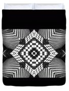 Geometric Progression Duvet Cover