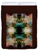 Geometric Textured Abstract  Duvet Cover
