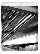 Geometry Lesson Palm Springs Tram Station Duvet Cover