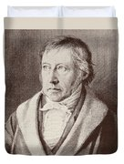 Georg Hegel  Duvet Cover
