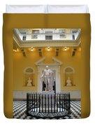 Georg Washington Statue - Capitol Richmond Duvet Cover