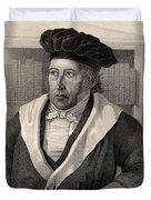 Georg Wilhelm Friedrich Hegel Duvet Cover
