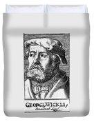 Georg Witzel (1501-1573) Duvet Cover
