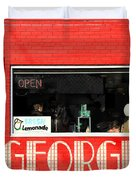 George Diner Duvet Cover