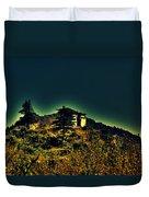 George Everest Observatory Duvet Cover