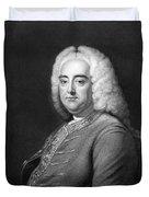 George Frederic Handel Duvet Cover
