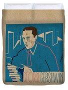 George Gershwin Duvet Cover