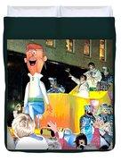 George Jetson Poster Duvet Cover