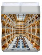 George Peabody Library I Duvet Cover